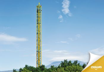 torre di caduta di Etnaland