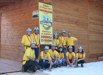 Istruttori del Carpegna Park:  il primo Parco Avventura della Provincia di Pesaro e Urbino
