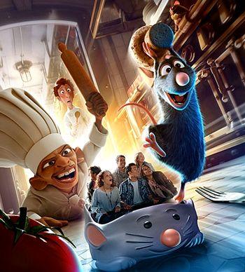 Ratatuille, novità 2014 a Disneyland Paris