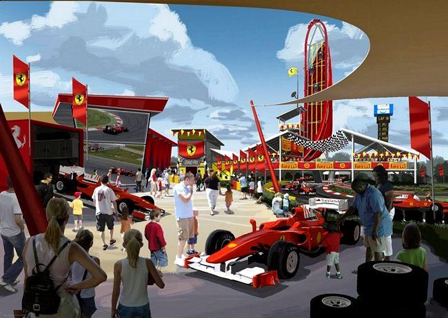Ferrariland, nuovo parco Ferrari a Portaventura (Spagna)