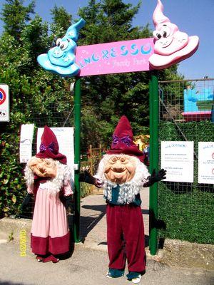 Ingresso del parco giochi per bambini MagicaBum