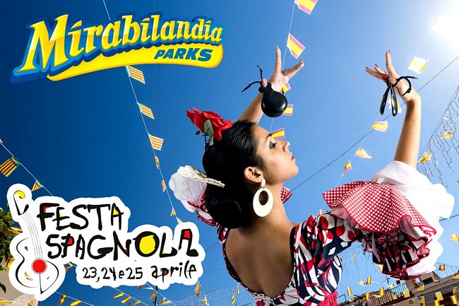 Festa spagnola a Mirabilandia