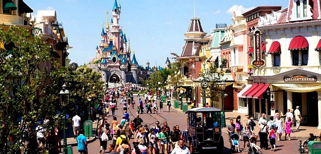 Main Street di Disneyland Paris