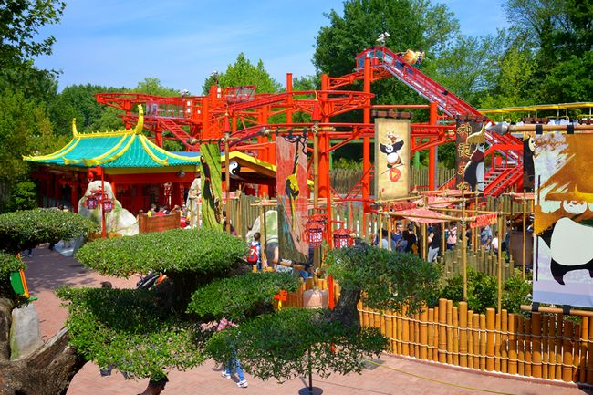 Nuova area a tema Kung Fu Panda a Gardaland