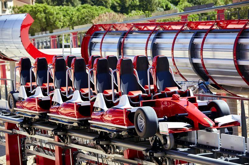 Treno dell'accelerator coaster di Ferrari Land, PortAventura