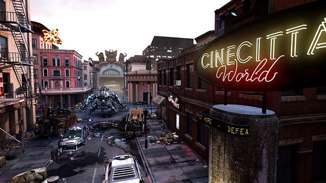 Cinecittà World novità 2017, nuova attrazione La Guerra dei Mondi