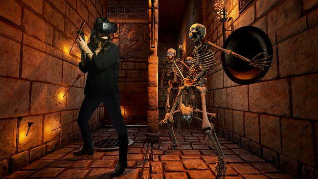 Cinecittà World novità 2017, labirinto degli scheletri