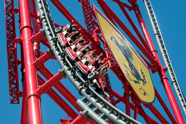 Red Force, montagne russe di Ferrari Land