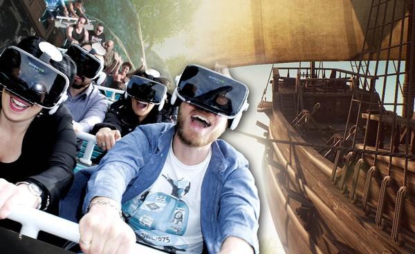 Rainbow Magicland Valmontone, novità virtual coaster