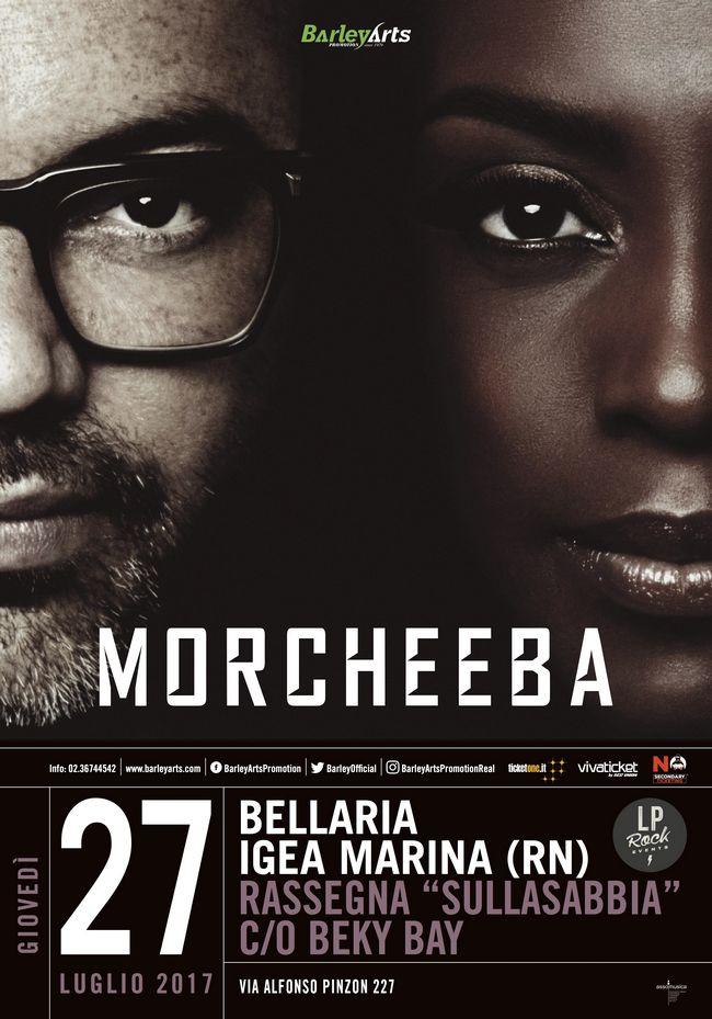 Concerto Morcheeba a Bellaria 2017