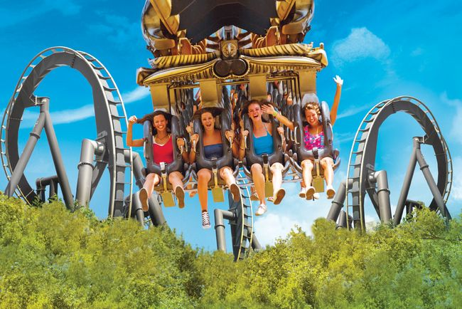 Katun, l'inverted coaster di Mirabilandia