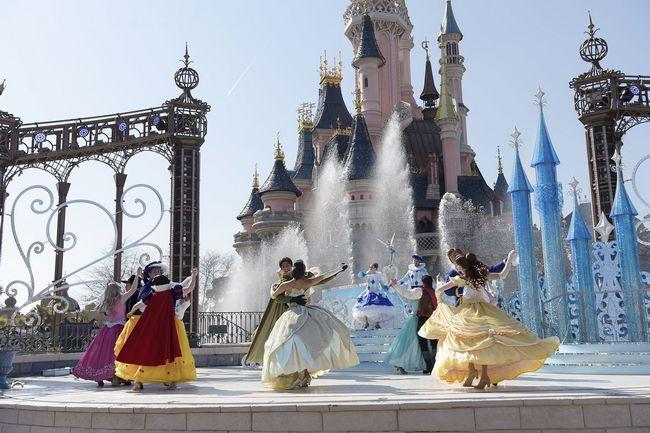 Ballo delle principesse Disney a Disneyland Paris