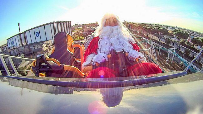 Babbo Natale a Cinecittà World, il parco a tema di Roma