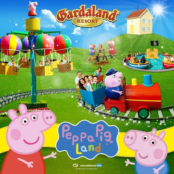 Peppa Pig Land 2018, la nuova area a tema Peppa Pig di Gardaland