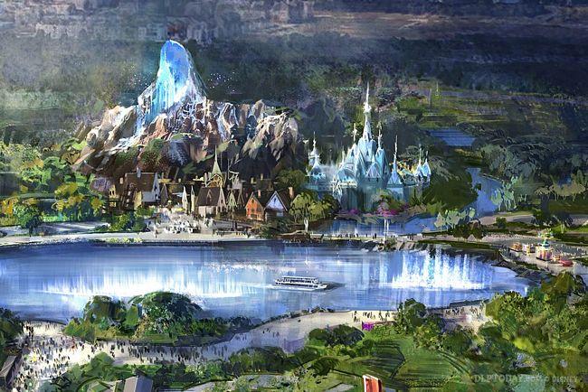 Nuova  area a tema Frozen ai Walt Disney Studios Paris