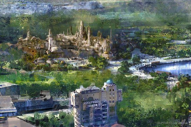 Nuova area Star Wars ai Walt Disney Studios di Parigi