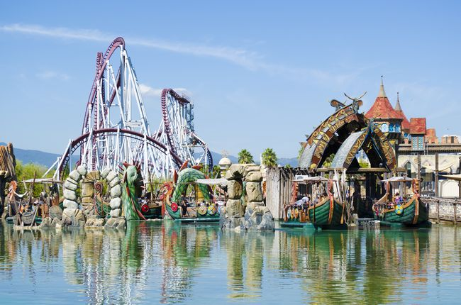 Parco divertimenti Rainbow Magicland a Valmontone (Roma)