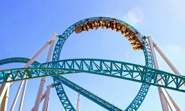 Roller coaster AltAir a Cinecittà World di Roma