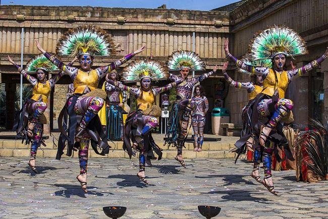Mayan show a Mirabilandia