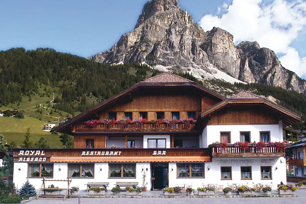 Hotel Royal a Corvara in Trentino