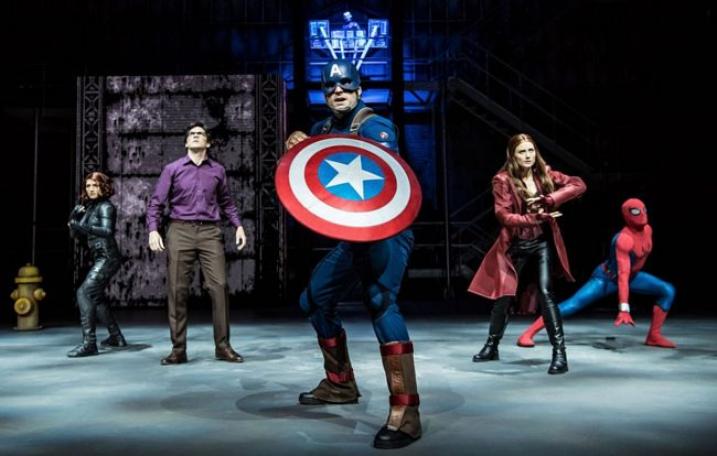 Supereroi Marvel a Disneyland Paris
