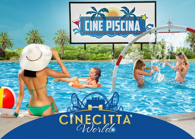 Cinepiscina a Cinecittà World