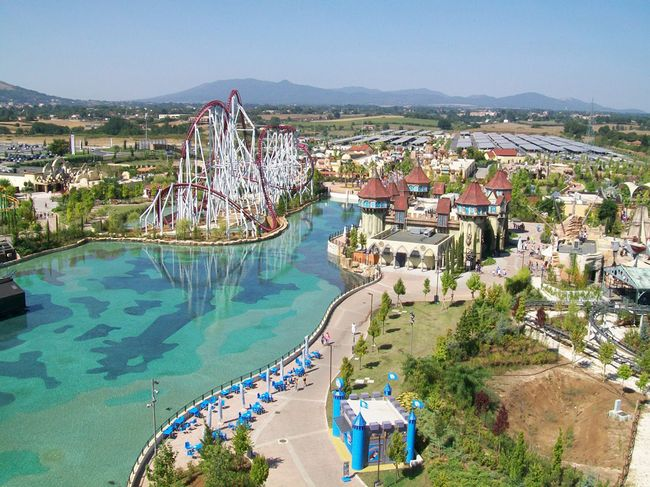 Rainbow Magicland, parco divertimenti a Valmontone