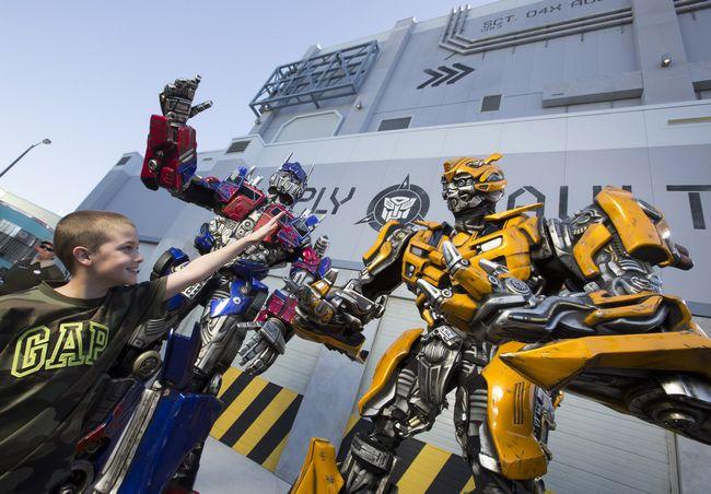 Universal Studios Orlando, attrazione Transformers