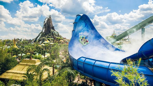 Parco acquatico Universal's Volcano Bay a Orlando in Florida