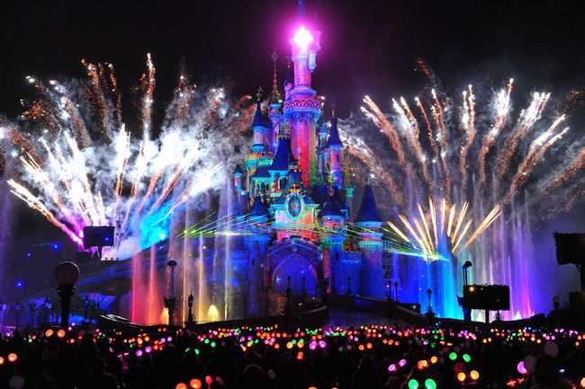 disneyland paris: spettacolo disney dreams