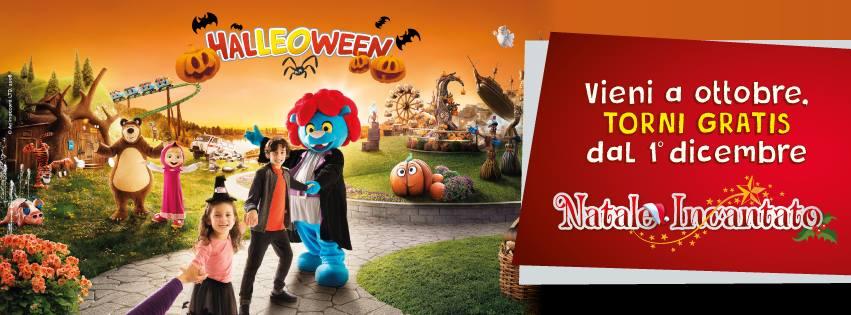 promozione di Leolandia per Halloween