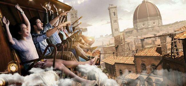 Cinecittà World novità 2019: Volarium, il cinema volante