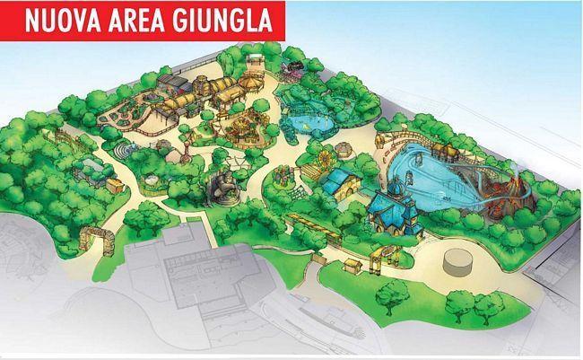 Nuova area a tema Giungla a Rainbow Magicland