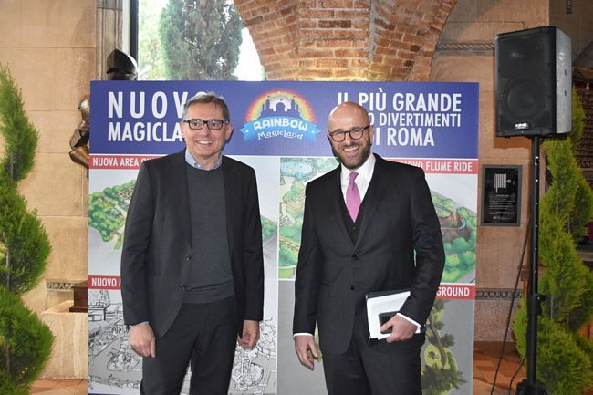 rainbow magicland conferenza stampa 2019