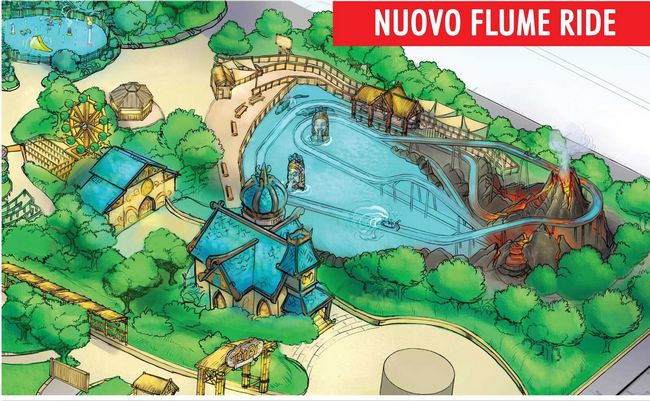 Nui Lua , nuova attrazione 2019 a Rainbow Magicland