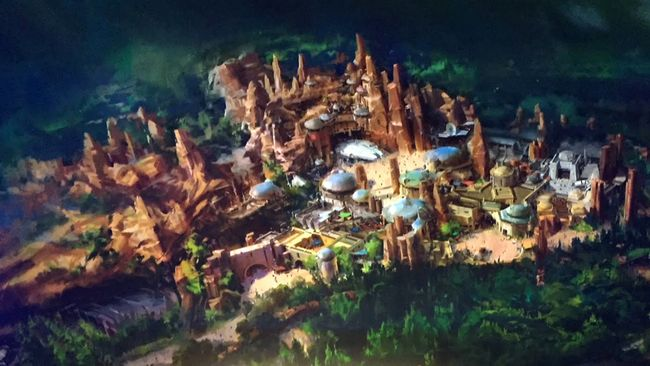 Nuova area Star Wars a Disneyland California