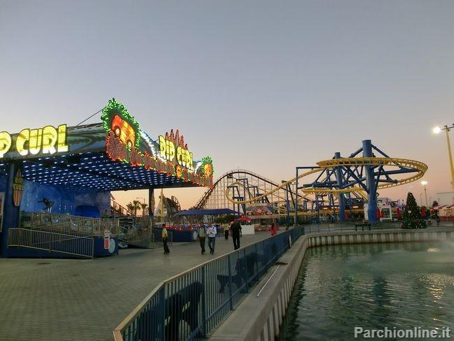 attrazioni del luna park Fun Spot America di Orlando