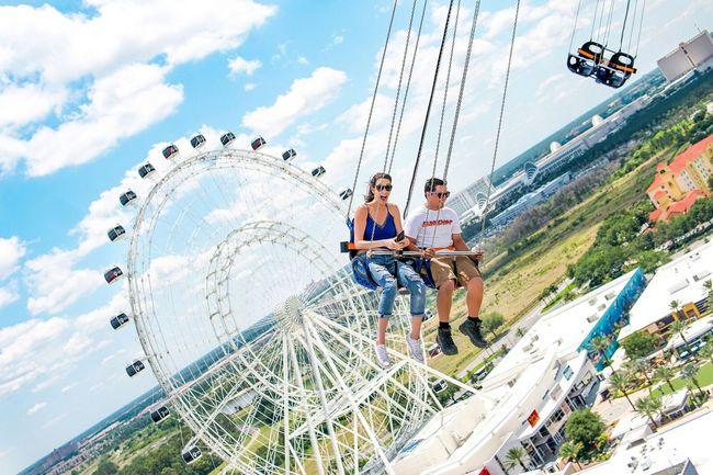 Attrazioni dell'Icon Park situato lungo la International Drive di Orlando (Florida)