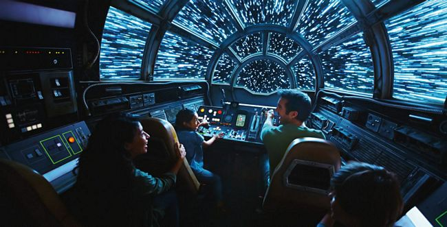 Attrazione Millennium Falcon: Smugglers Run a Star Wars Galaxy's Edge