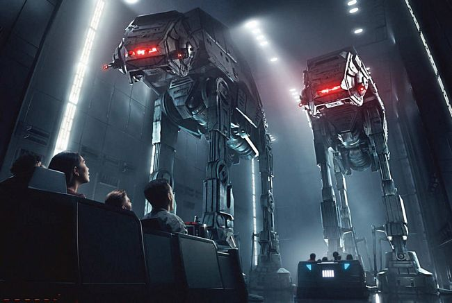 Attrazione Star Wars: Rise of the Resistance a Star Wars Galaxy's Edge
