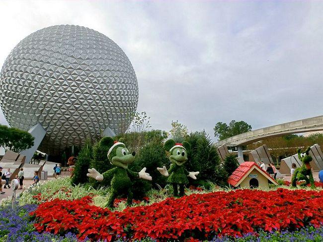 Minnie e Mickey Mouse a Epcot