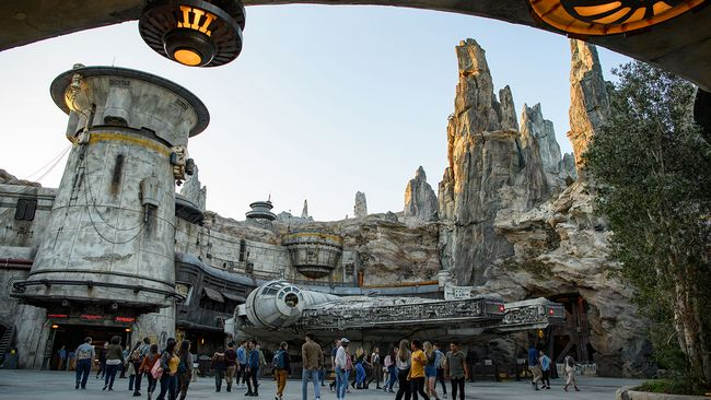 Nuova area tematica Star Wars Galaxy's Edge ai Disney Hollywood Studios Orlando