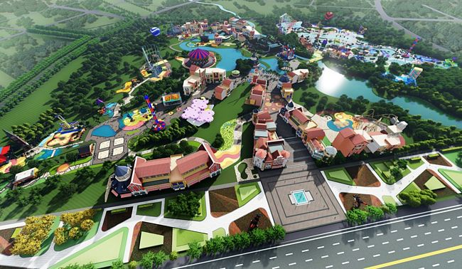 legoland sichuan resort artwork
