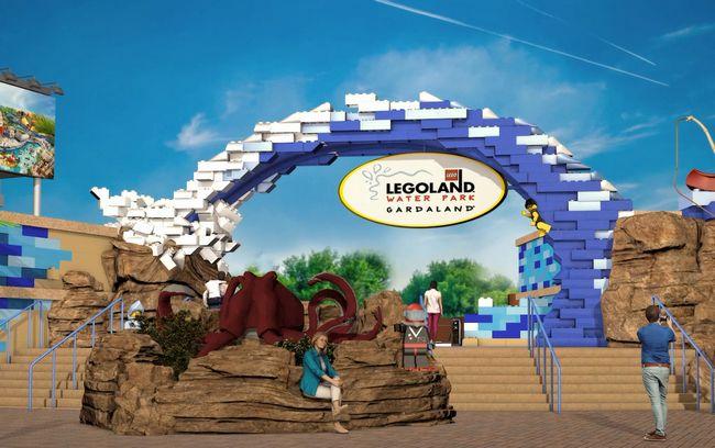 Portale d'Ingresso del nuovo Legoland Water Park di Gardaland