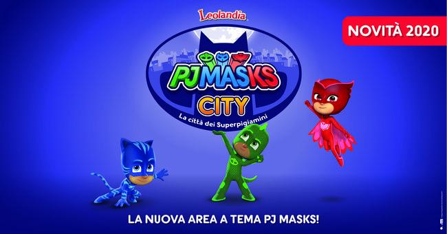 Leolandia novità 2020 PJ Masks City