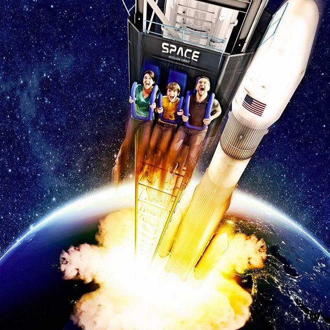 Attrazione Space Mission Orbit: novità 2020 di Movieland