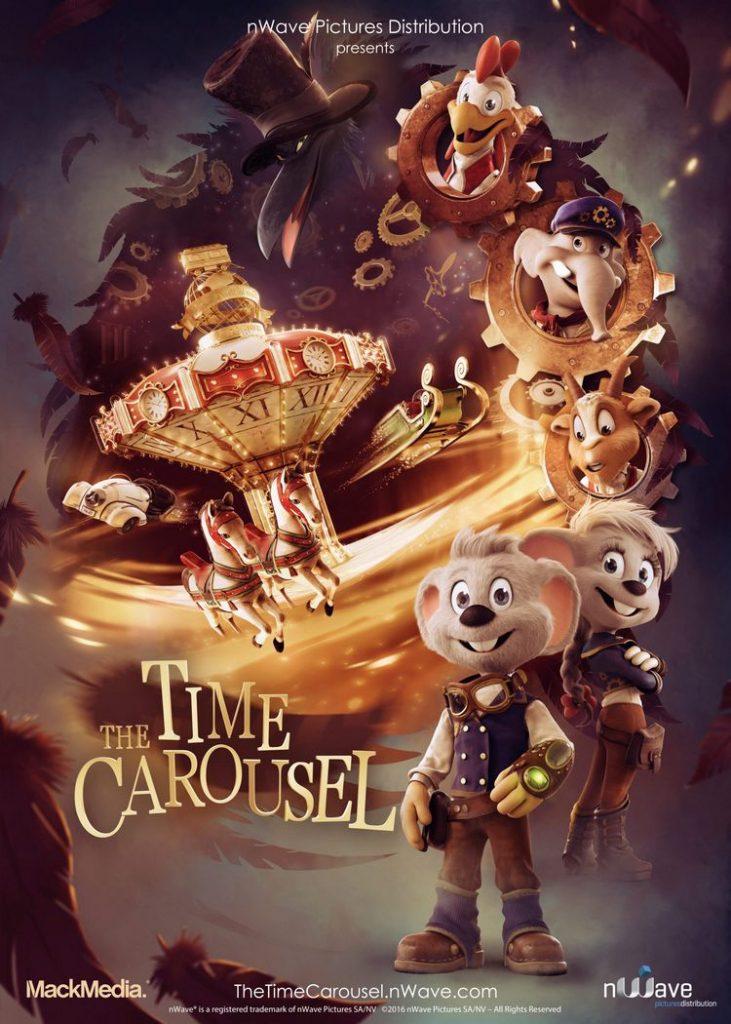 The Time Carousel, il nuovo filmato 4D per il cinema del parco Cavallino Matto