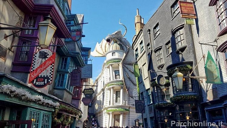 Area Diagon Alley agli Universal Studios FLorida