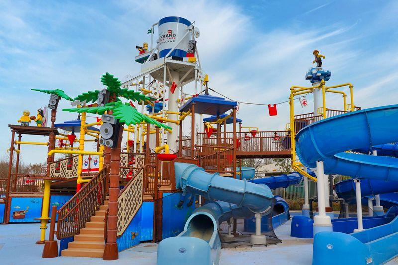 Playground all'interno del nuovo Legoland Water Park di Gardaland