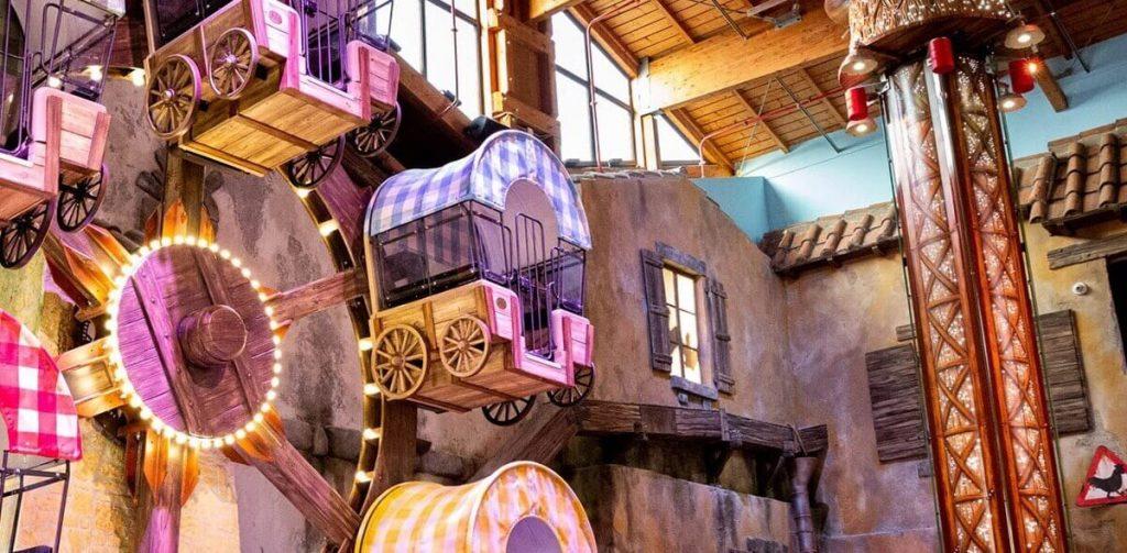 Luna Farm - Luna park per bambini all'interno di Fico Eataly World Bologna